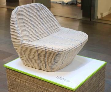 Sessel aus Papierseil, Katja Hettler, Jula Tüllman