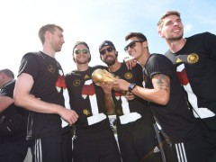 Fussball WM 2014: DFB WM-Party Berlin, 15.07.14