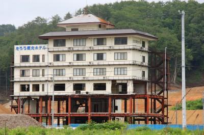 Iwate - zerstörtes Haus