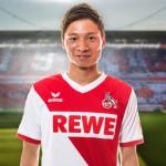 1.FCケルン 長澤和輝選手 Ⓒhttp://www.fc-koeln.de