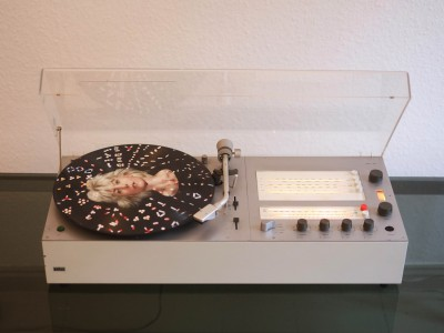 Braun audio 310 von oben