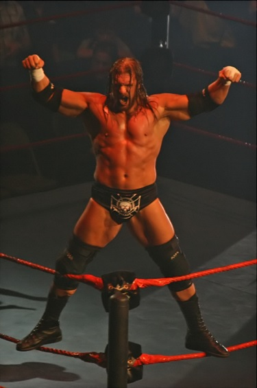 """Triple H Entrance Sequence Melbourne 10.11.2007"" by Jjron - Own work. Licensed under Creative Commons Attribution-Share Alike 3.0 via Wikimedia Commons"