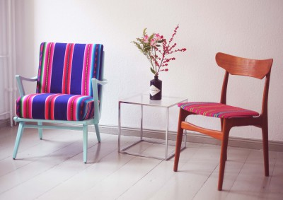 Sessel und Stuhl