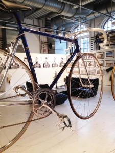 1984 mit 5,5kg das leichteste Fahrrad mit Stahlrahmen der Welt