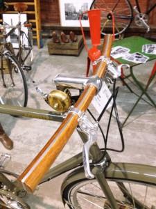 Neues Fahrrad im Vintage Design