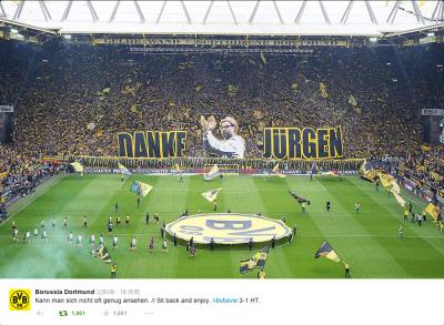 Borussia Dortmund公式ツイッター @BVBより