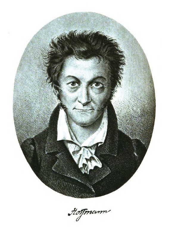 Selbstportrait E.T.A. Hoffmanns