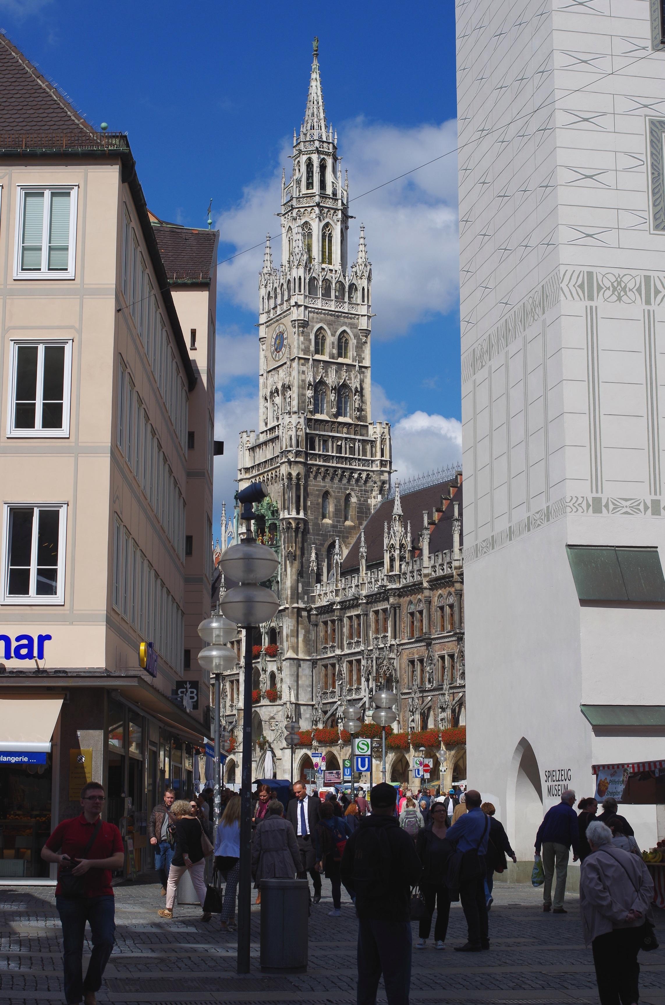 ミュンヘンの旧市街