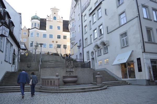 ケンプテン(Kempten)の街