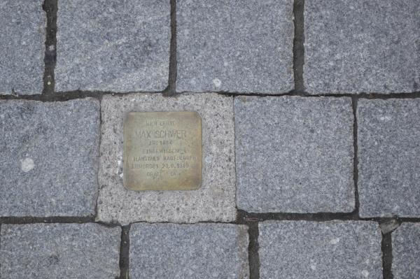 つまずきの石(Stolpersteine)