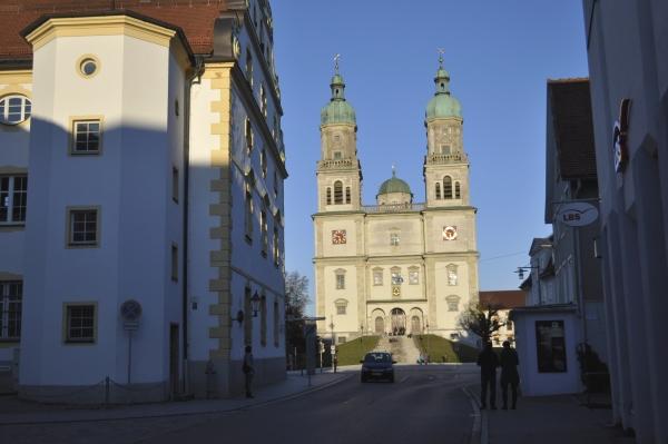 この日の目的地はケンプテン(Kempten)の街。