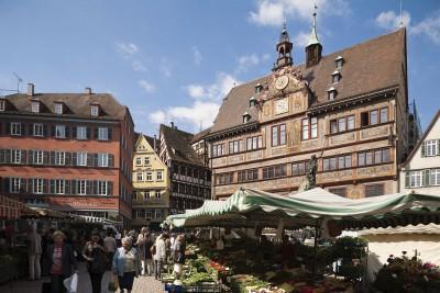 Tübinger Rathausmarkt