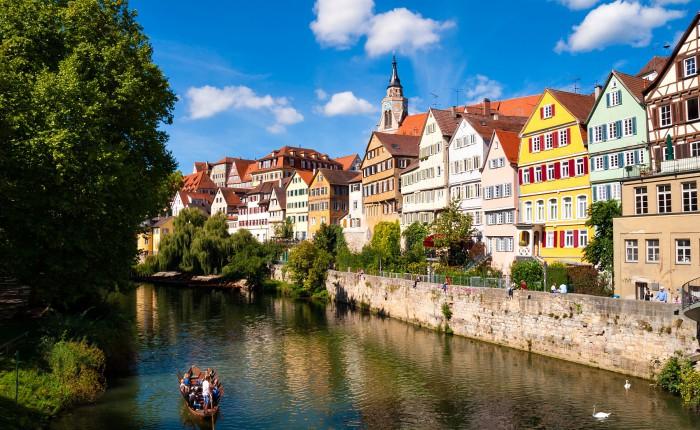 Neckarfront, Tübingen am Neckar