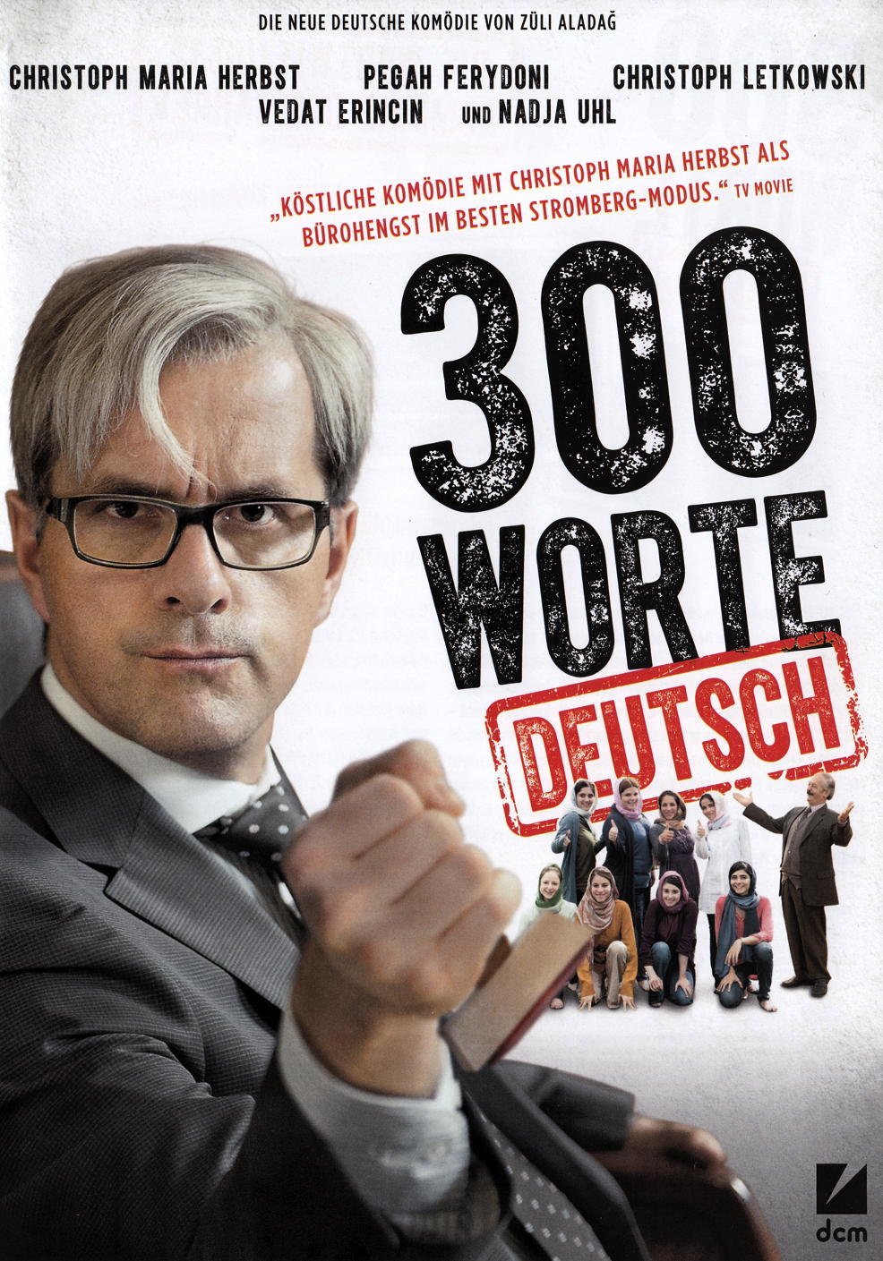 Christoph Maria Herbst:300 Worte Deutsch Ⓒ DCM (Vertrieb Universum Film)