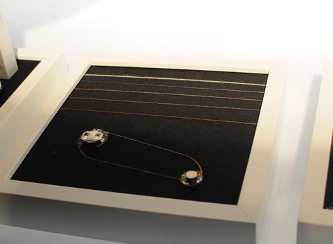(リレイのプロジェクトに使用されている、通電が可能な特殊な糸。)