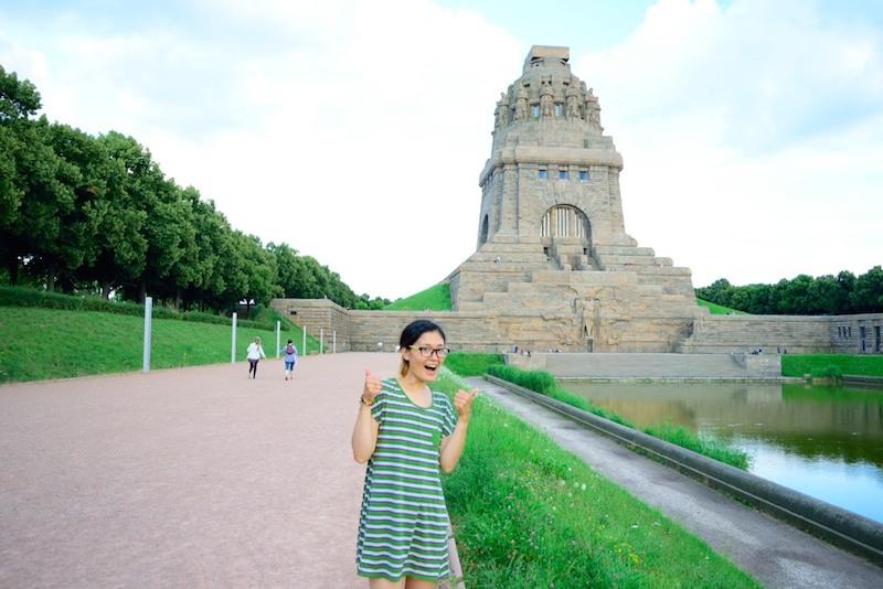 ライプツィヒのランドマーク、諸国民戦争記念碑。歴史的にも見所たくさん。