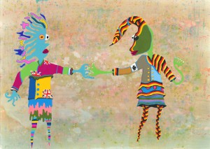 中学校の部 第2位 『Christmas truce』 鈴木 一世 さん 仙台市立五橋中学校 ©German Embassy Tokyo