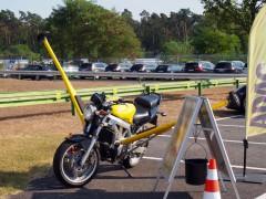 クルマだけでなくオートバイの教習も用意されていた Photo: Aki SCHULTE-KARASAWA