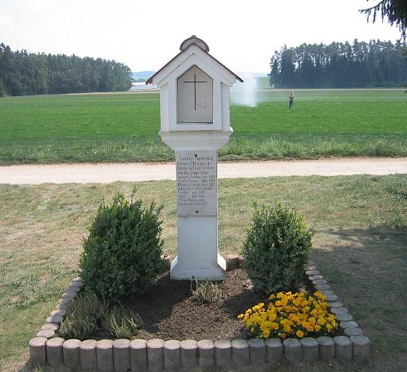 事件現場の石碑 Ⓒ Andreas Keller