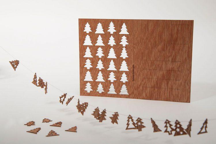 写真3 3D モチーフ・アドベントカレンダー「もみの木」