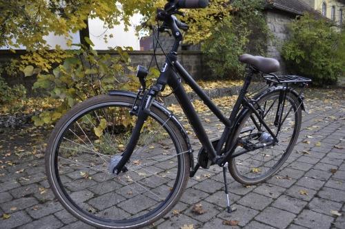 普段はミュンヘンで活躍してくれている私の愛車。