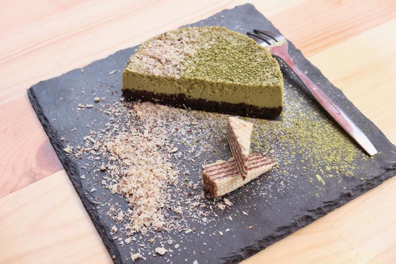 濃厚な味わいを楽しめる抹茶チーズケーキ