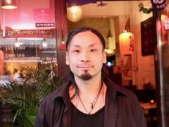 Harapeco Japanese Kitchenを開いたSchuseiさん
