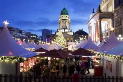 ベルリン、ジャンダルメンマルクトのクリスマスマーケット