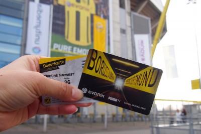 カード型の年間チケットには、通年で指定された座席番号やバーコードが記載されている Photo: Aki SCHULTE-KARASAWA