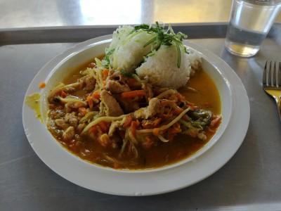 アジアンな野菜の炒め物