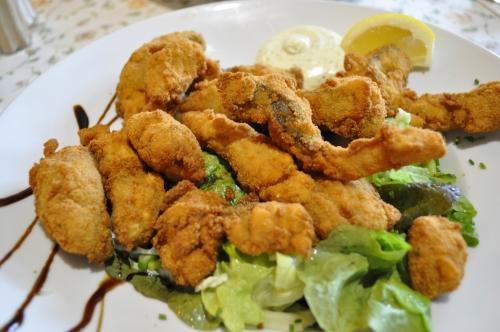 ドイツ料理・鯉のフライ