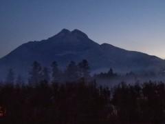 Mt. Yufu vor Sonnenaufgang - © Hans Carl von Werthern