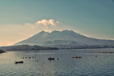 Der aktive Vulkan auf Sakurajima - © Hans Carl von Werthern
