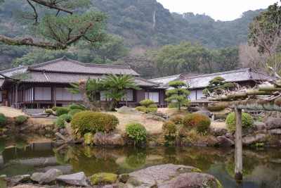 Die Residenz des Shimazu-Clans in Kagoshima - © Hans Carl von Werthern