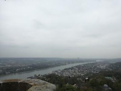 ケーニヒスヴィンターから見たボン全景