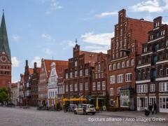 Altstadt, Lueneburg, Niedersachsen, Deutschland | Verwendung weltweit ©picture alliance / Arco Images GmbH
