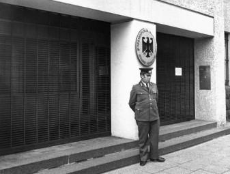 閉鎖された在東ベルリン西ドイツ常駐代表部 (© picture-alliance / dpa)