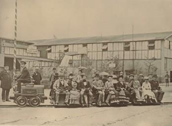 1879年 ベルリンにて ©dpa