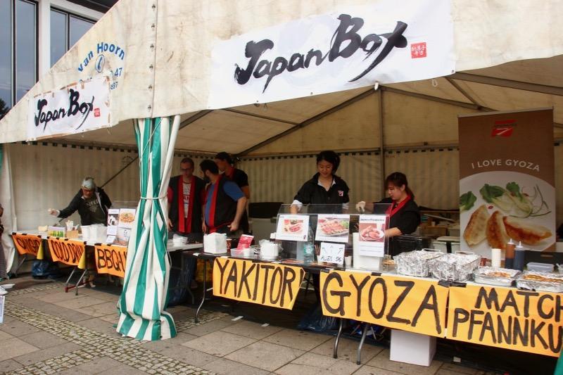 「アニメメッセ・ベルリン」で日本食屋台を出店
