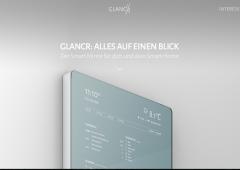 住環境を重視するドイツらしいアイデア!スマートホームを叶えるミラー型ディスプレイ「GLANCR」