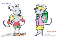 【今週のドイツ語】Wasserratte & Landratte