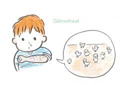 【今週のドイツ語 Gänsehaut】