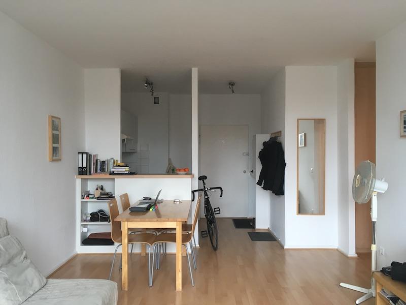 椿さんが暮らしたベルリンの部屋