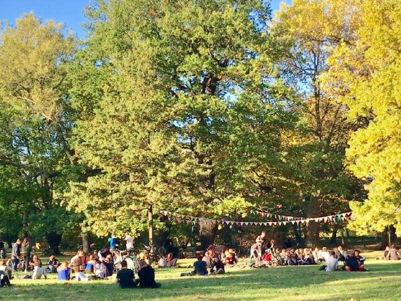 「福岡と似ている」というライプツィヒ。夏の公園にはDJがいた