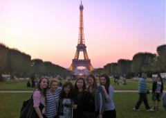 ドイツの高校の修学旅行で行ったパリ