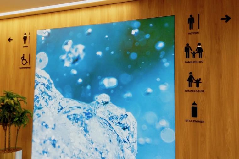 ショッピングセンターには、おむつ交換の設備のほかに授乳室など赤ちゃん・子連れに嬉しい設備が整っている Photo: Aki SCHULTE-KARASAWA