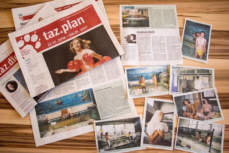 新聞Tageszeitungでインタビュー記事が掲載された。