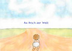 【今週のドイツ語】Am Arsch der Welt