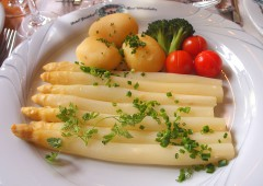 ドイツが熱狂!野菜の王様シュパーゲル(白アスパラガス)