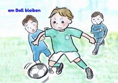 【今週のドイツ語】am Ball bleiben